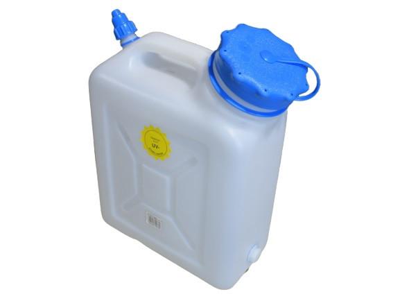 Hünersdorff 10 l Wasserkanister Tank Kanister Weithals Camping Wasser Behälter