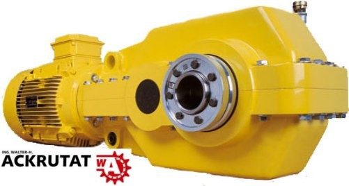 Stiebel K030.080 Kegelstirnradgetriebemotor 3 kW QuarryMaster Getriebe Antrieb