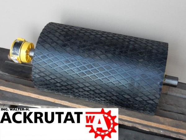 Drehstrom-Trommelmotor Rulmeca Motor Förderband RL=550 mm Walzenmotor Ø330 mm