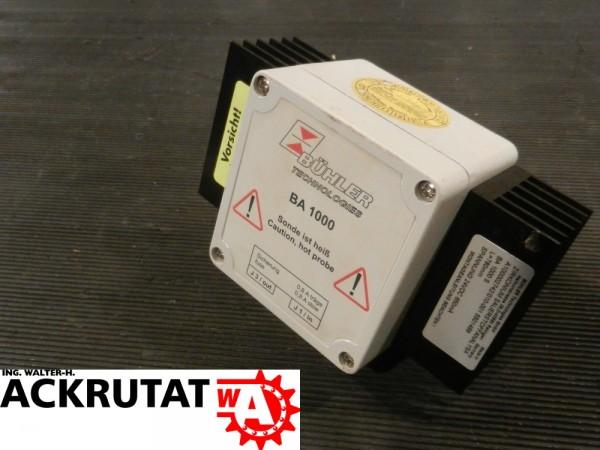 Bühler Sonde BA 1000 S Sensor Zirkonium-Sauerstoffanalysator Sauerstoffsensor