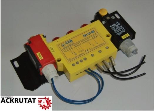 CEB CH 9190 Sensoreinheit mit Schalter pizzato FR Bernstein I88-U1Z W PG11