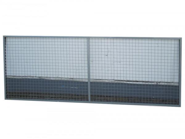 4 Rückwandgitter Gitter Zwinger L2960 H1200 Palettenregal Hochregal