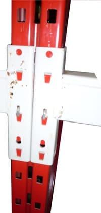 redirack Palettenregal Rahmen Profil Raster Lochmuster
