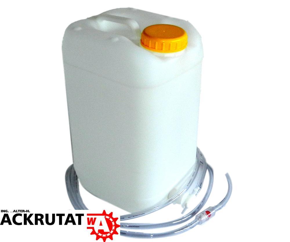 NEU Aquamatik Behälter 25 L zur Befüllung von Gabelstaplerbatterien Wasserfaß