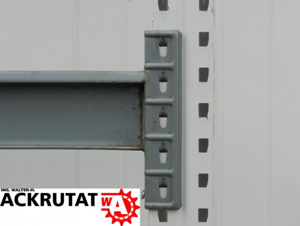 10x Galler Omega Palettenregal Traversen LW2795 grau Traverse Schwerlast Regal