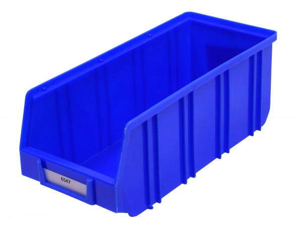 Sichtlagerkiste blau Regalkiste Regalbox Lagerkiste