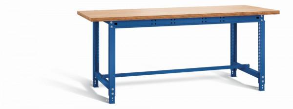 Otto Kind Werkbank 2004 x 1000 x 715-955 mm (BxTxH), Holzplatte, blau, Typ allrounder 110 m