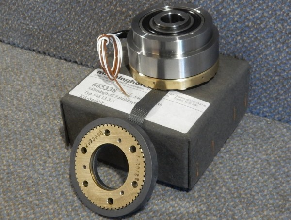 Mönninghoff Elektromagnet Zahnkupplung 546.13.3.5 Kupplung 25 Nm Schaltkupplung