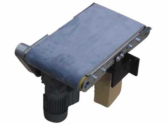 L480 B260 Förderband Stückgut Teppichgurt Gurtförderer Kleinförderband