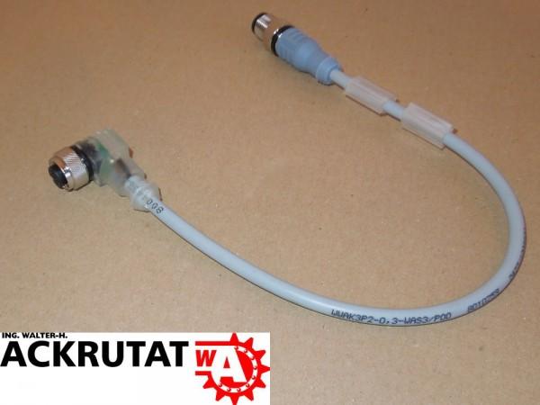 Turck WWAK3P2-0,3-WAS3/P00 LED Sensor-Verbindungsleitung 8010259