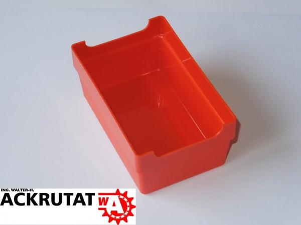390 Kleinteilebox rot Kasten Schraubenkasten Sortimentsbox Lagerkasten Lagerbox