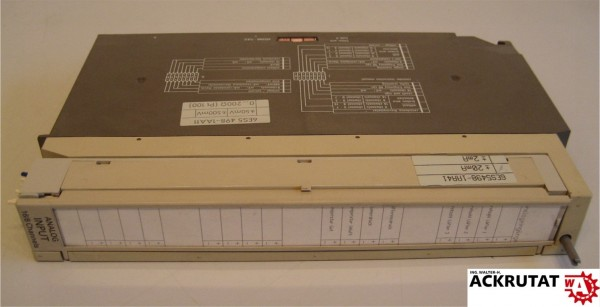 Siemens Simatic S5 6ES5 465-7LA12 E01 Analog Input