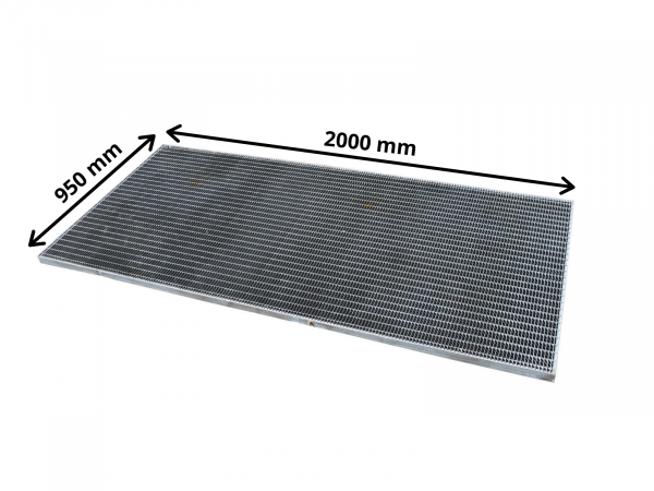 Gitterrost Stahlgitter verzinkt Industrie-Rost Normrost