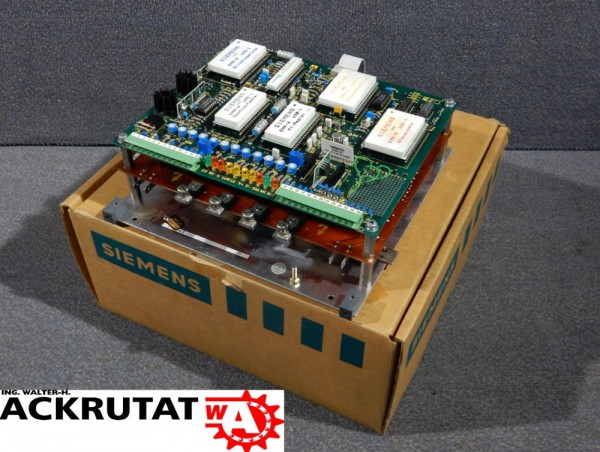 Siemens Simoreg 6RA2216-8DK26-0 Stromwandler Umrichter Stromrichter Analogtechnik