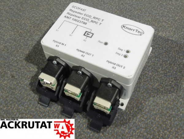 Knorrtec 10023700 Repeater Baumtopologie 1IN 2OUT ECO_RPCT Profibus