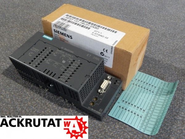 ET 200L SPS Erweiterungsmodul Siemens Simatic S7 6ES7-131-1BL01-0XB0 Modul E:2