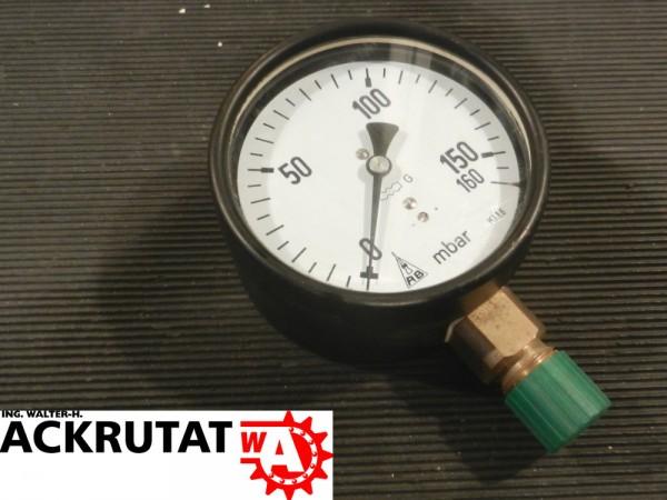 AB Armaturenbau-GmbH Druckmessgerät RE100 Druckmessgerät mit Rohrfeder Manometer