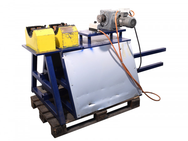 Rohrdrehvorrichtung Rollenbock Rohrbearbeitungssystem