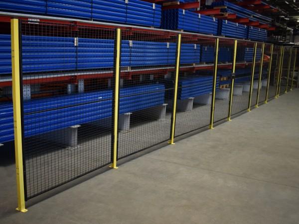Sicherheitszaun Axelent L13700 H2000 Tür Anlagenschutzzaun Schutzzaun Gitter