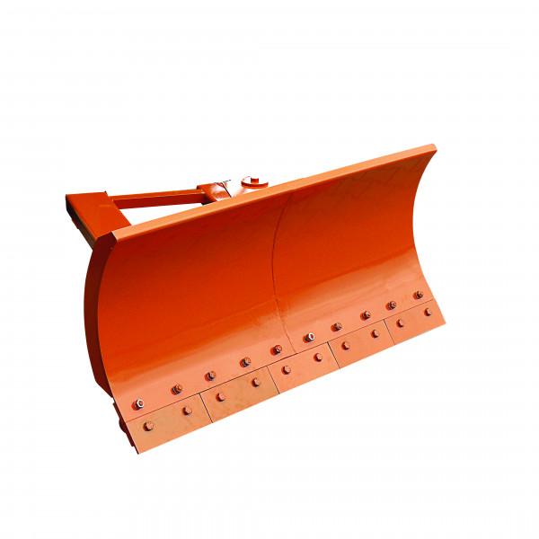 Eichinger Schneeschieber 2071 in orange pulverbeschichtet