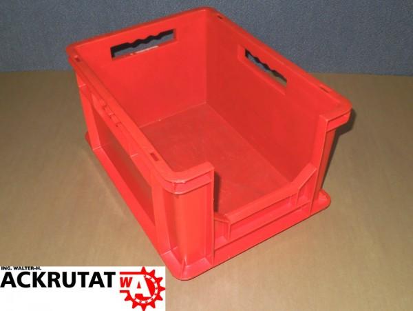 8 Schäfer EF 4220 Euro-Fix Kasten B 300 x T 400 Lagerkasten Stapelbehälter Kiste