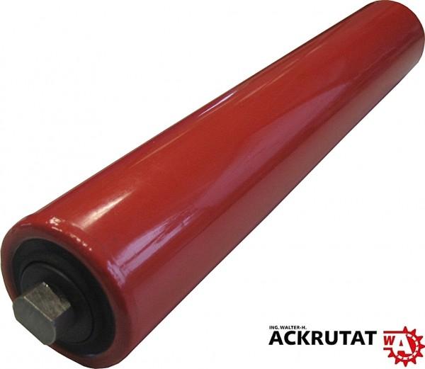 Förderbandrolle Tragrolle Ø 63.5 mm - Länge 950 mm - SW 15 - Stahl lackiert