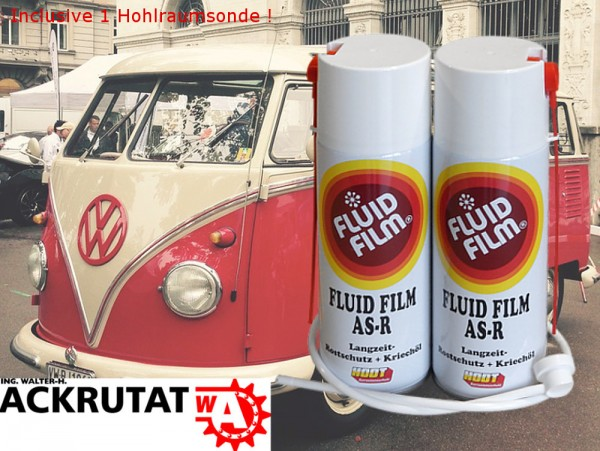 Hodt 2 x Fluid Film AS-R 400 ml Rostschutz Kriechöl Oldtimer Korrosionsschutz