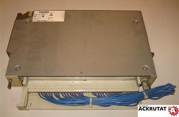 Siemens Simatic S5 6ES5 491-0LB11 E02 Adaption Casing Inserted Modul