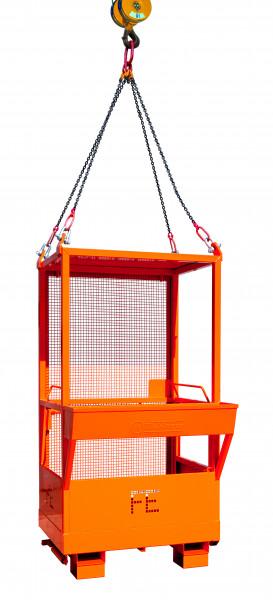 Eichinger Arbeitsbühne 1073.1 in orange pulverbeschichtet