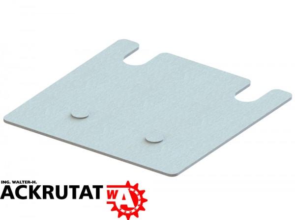 4 Meta Multipal S Palettenregal Unterlegplatten Ausgleichsplatten 140 x 140 x 2