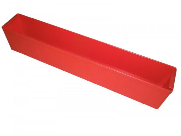 Regalkasten Schäfer Sortimentskasten rot Kunststoffkiste