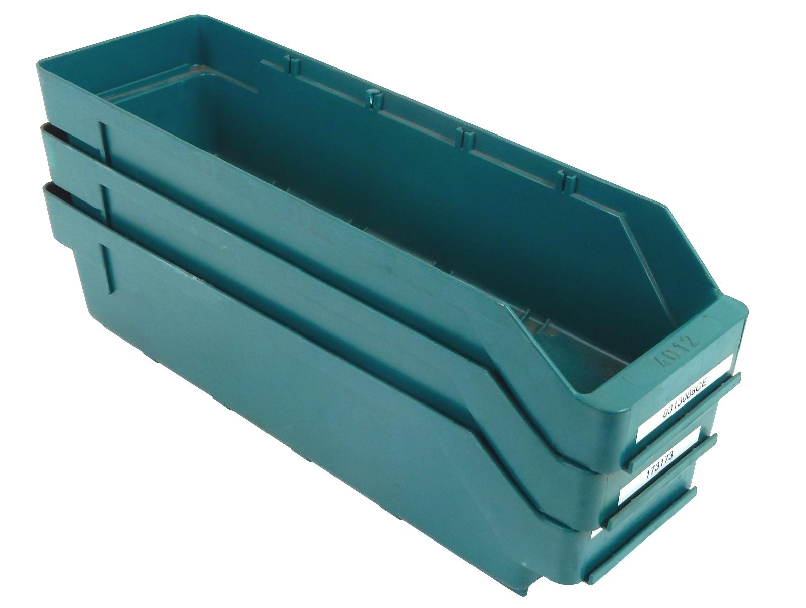 3 Sichtlagerkästen Lagerbox stapelbar Transportkiste Lagerkiste Stapelbehälter
