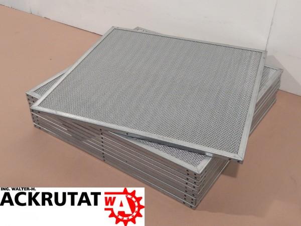 10 Filterplatten DencoHappel Delbag Luftfilter HL 12,5 Gitterrost