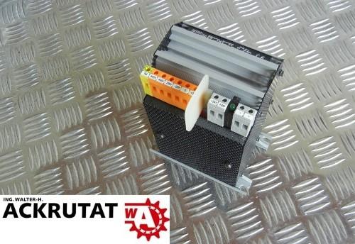 Block UPAL 24-1 Trafo Transformator FA-Nr. 27633 Gleichstrom Versorgung 24 V