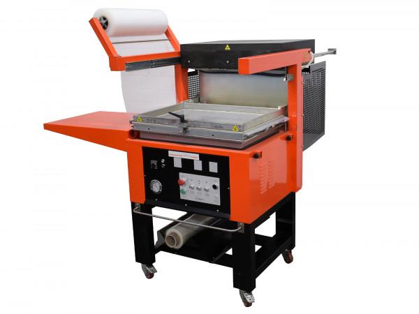 Quick-Pack Schrumpfhaubenmaschine Magic Skin 570 Verpackungsmaschine
