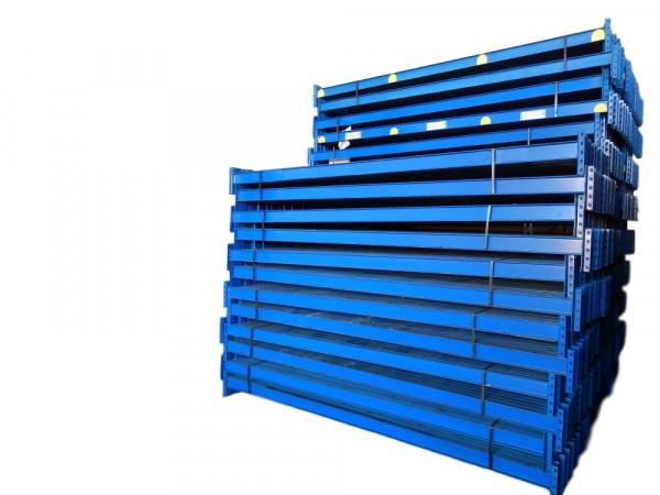 40x Schäfer PR350 blau Palettenregal Traversen Längstraverse Holm L2900