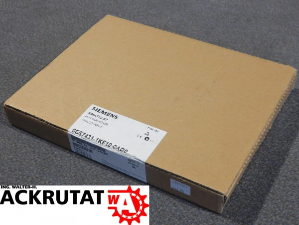 Siemens 6ES7431-1KF10-0AB0 Analogeingabe Simatic S7 400 SM 431 Eingabemodul