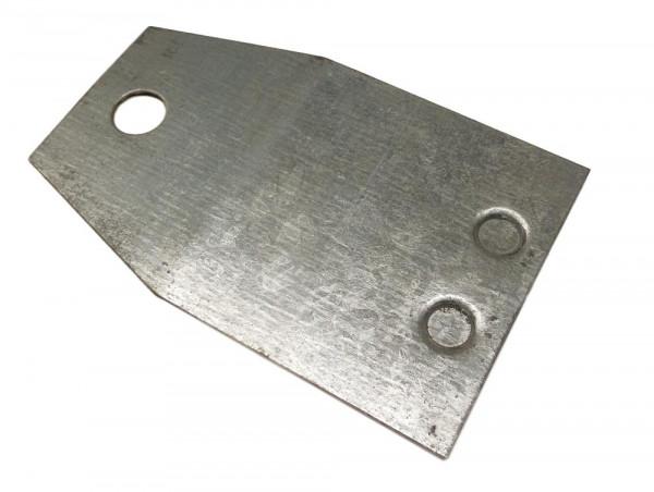 10 Unterlegplatten Dexion S4 Palettenregal Ausgleichsplatten 1 mm Platten