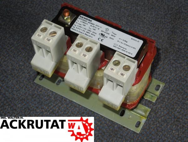 Siemens Netzdrossel 4EP3600-5US00 SIDAC Netztransformator für Frequenzumwandler