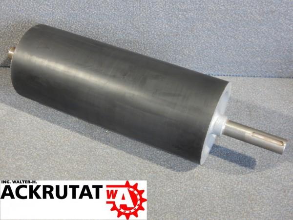 Walze Tragrolle Gummiwalze RL 350 mm Ø 139 mm Rolle Gummi Fördertechnik
