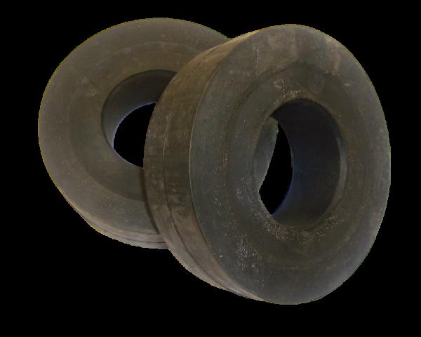 10 Stützring Form B Ø 89 x 133 mm Gummiring Endring Tragrolle Förderband