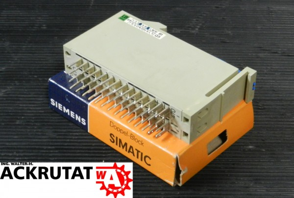 Siemens Simatic C1 6EC1 470-3A Doppelblock Modul Doppel-Block