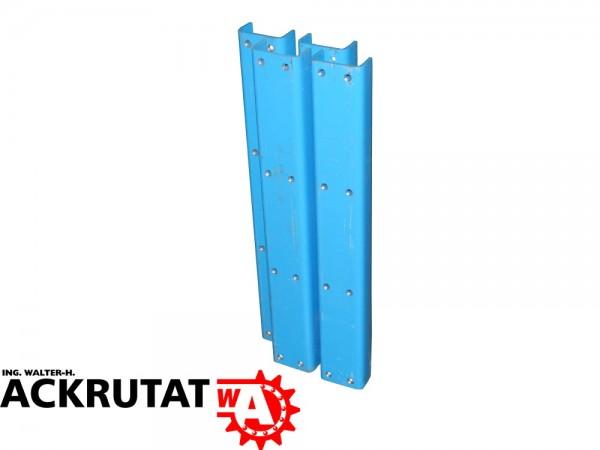 10x Pfostenschutzprofile Palettenregal Rammschutz Anfahrschutz sehr stabil 6 mm