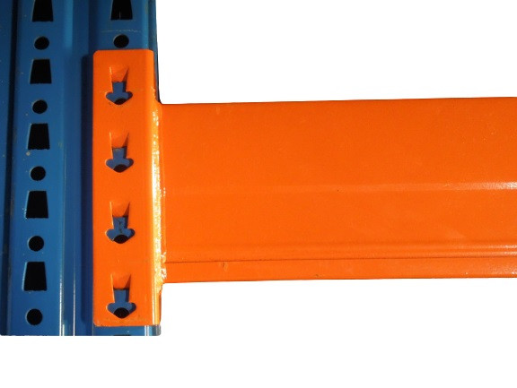 10x Nedcon Palettenregal Traversen B2785 H110 Regal Traverse Balken Holm orange