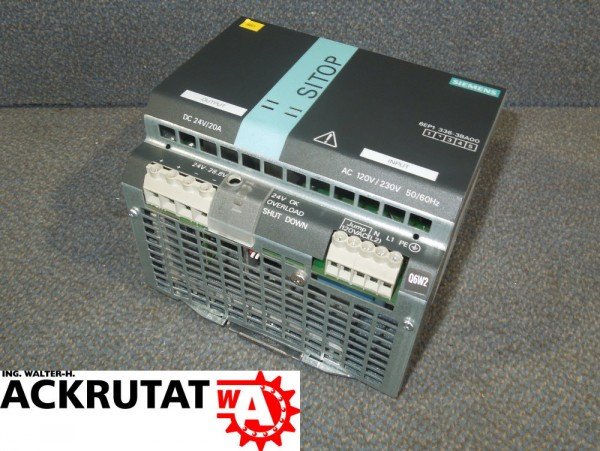 Siemens Sitop 6EP1336-3BA00 Schaltnetzteil E2 20A Netzgerät 480W Modulator