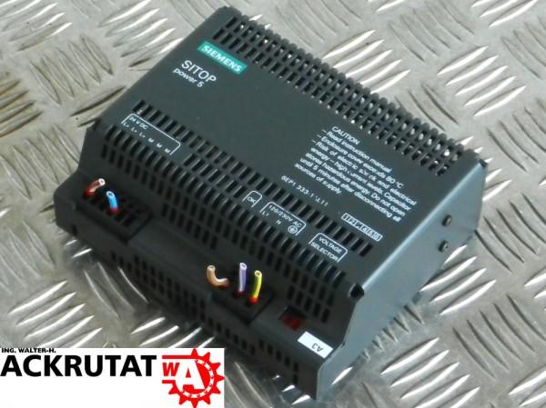 Siemens Sitop S7 Stromversorgung 6EP1333-1AL11 6EP1 333-1AL11 E3 Power 5
