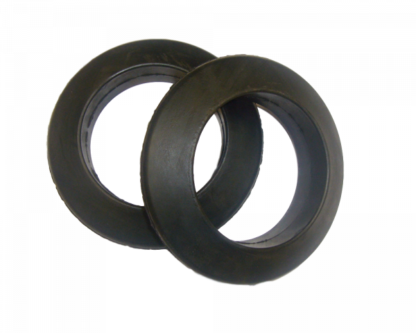 10 Stützring Form A Ø 63,5 x 108 mm Gummiring Tragrolle Förderband
