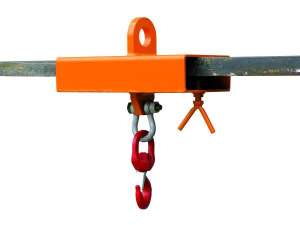 Eichinger Lasthaken für Stapler und Kran 2084 in orange lackiert