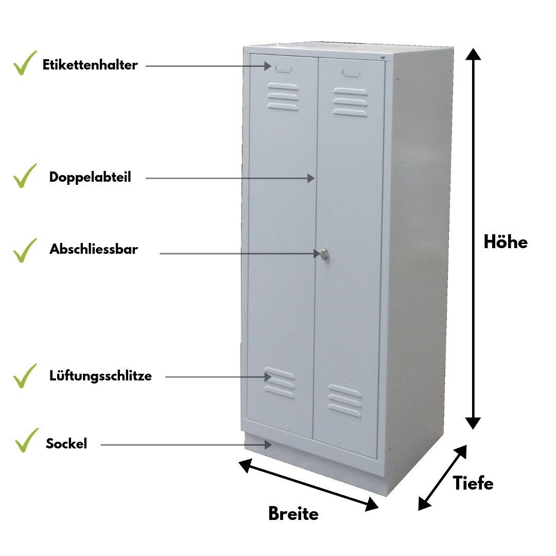 Spind Garderobenschrank