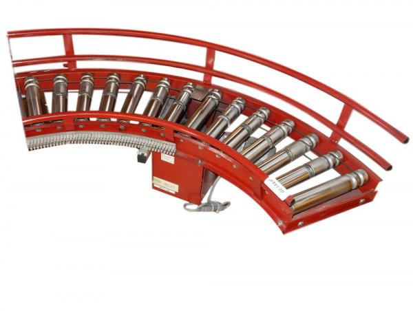 Rollenbahnkurve Rollenkurvenförderer 90° Rollenbahn Kurve RL290 Förderbahn